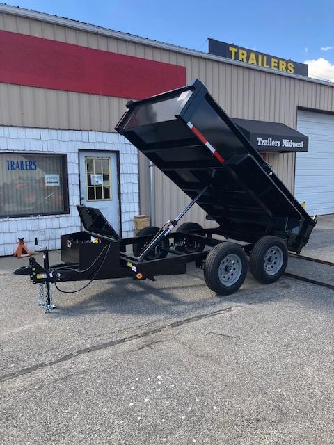 2022 Quality Steel 5X10 7K GVWR Dump Trailer $6675