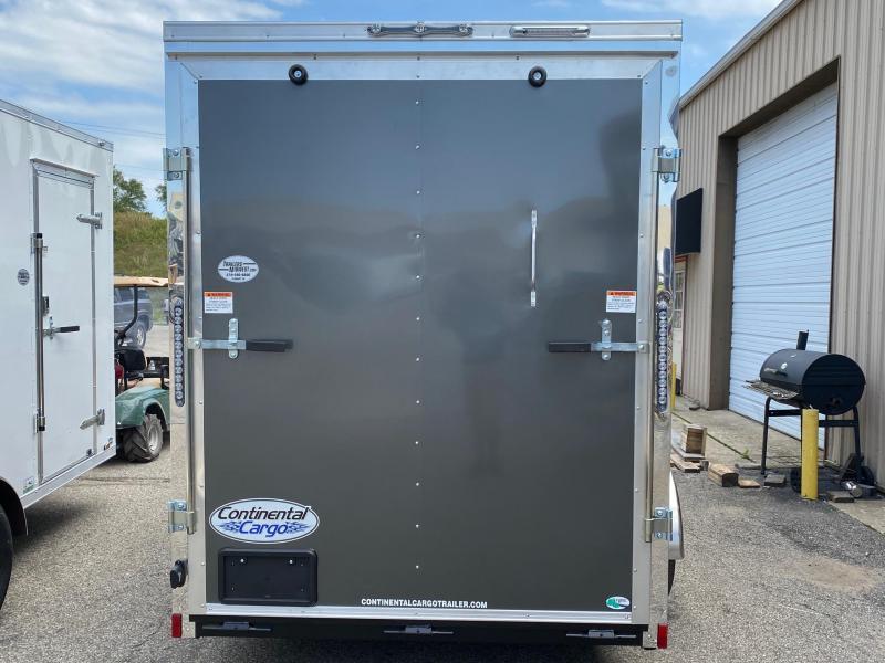 2022 Continental Cargo V-Series 6X12 Single Axle Cargo Trailer $5650