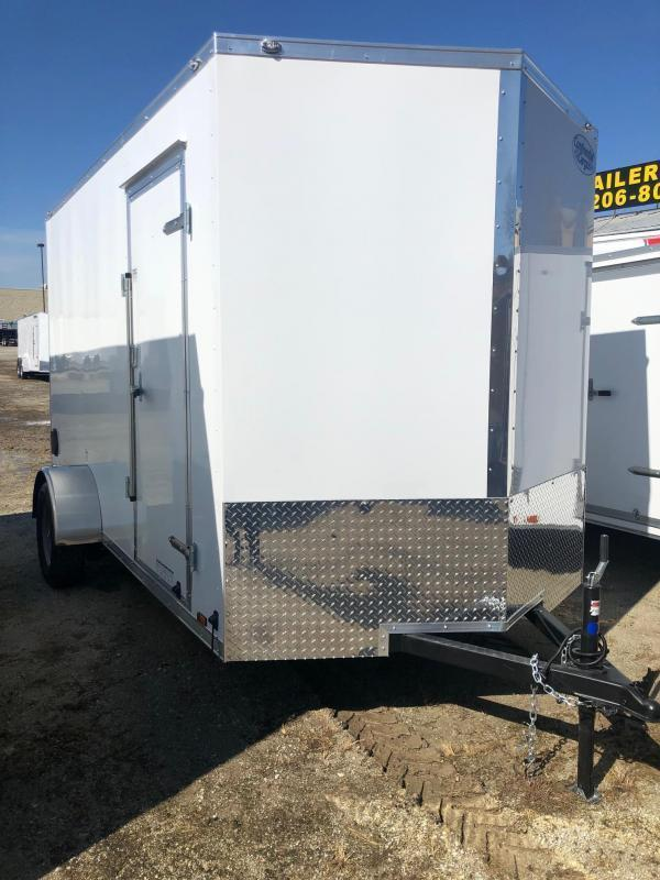 2021 Continental Cargo V-Series 6.5X12 Single Axle Cargo Trailer   $3650