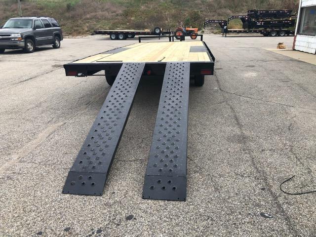 "2022 Quality Steel 101"" x 20' 10K Flatbed Deckover Trailer $6000"
