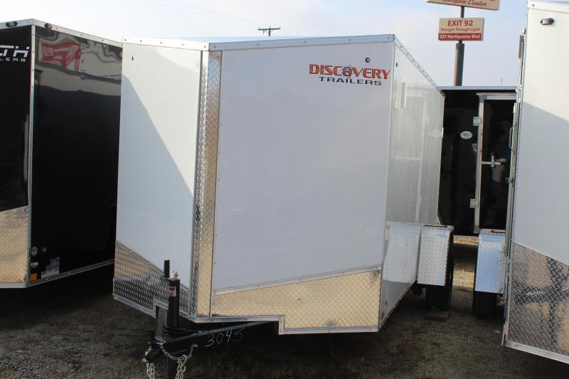 2021 Discovery Rover ET 6X12 Single Axle Cargo Trailer $2800