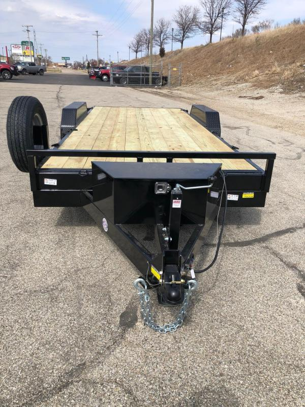 "2021 Quality Steel 83"" x 20' Tilt Trailer $6975"