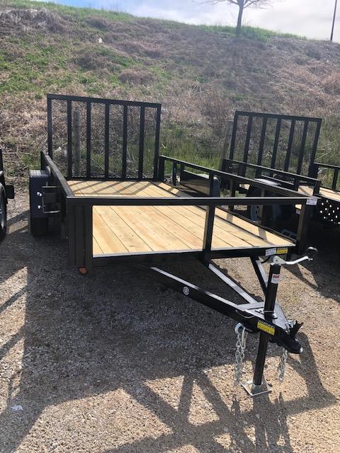2021 Quality Steel 6X12 Single Axle Utility Trailer $1765