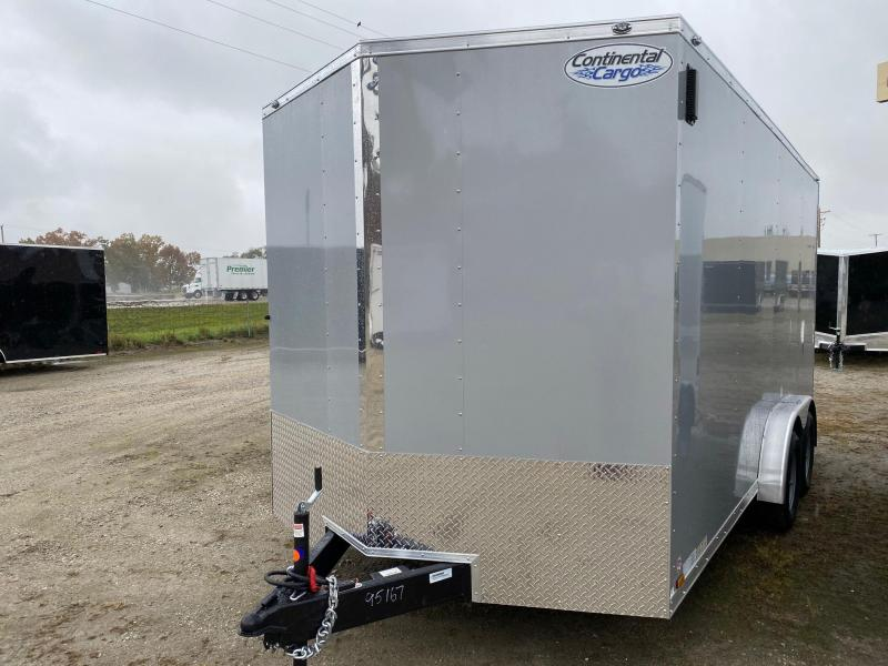 2021 Continental V-Series 7.5X16 7K GVWR Enclosed Cargo Trailer $5150