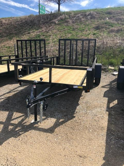 2021 Quality Steel 6X12 Single Axle Utility Trailer $1765