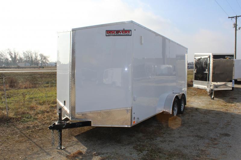 2021 Discovery Rover ET 7X18 7K GVWR Cargo Trailer $4975