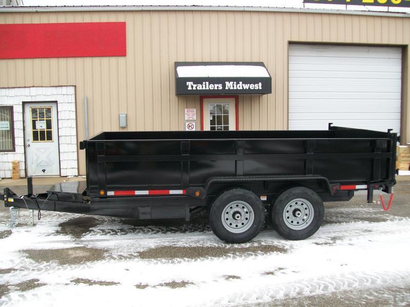 """2022 Quality Steel CJ 83""""X14' 14K GVWR Dump Trailer $8675"""