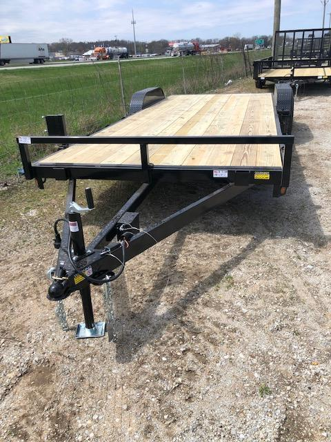 "2022 Quality Steel 83""X18' 7K GVWR Car Trailer $3875"