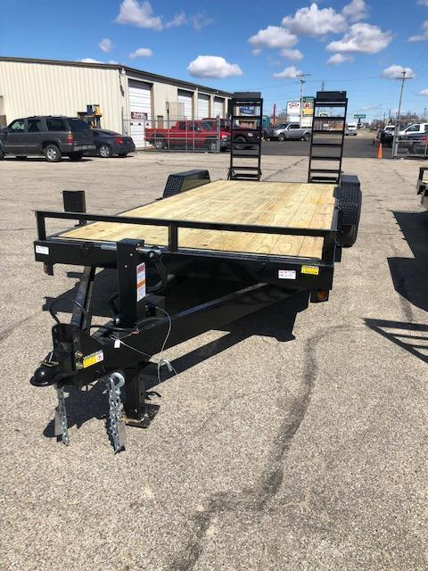 2021 Quality Steel 83 X24 14K GVWR Equipment Trailer 5015