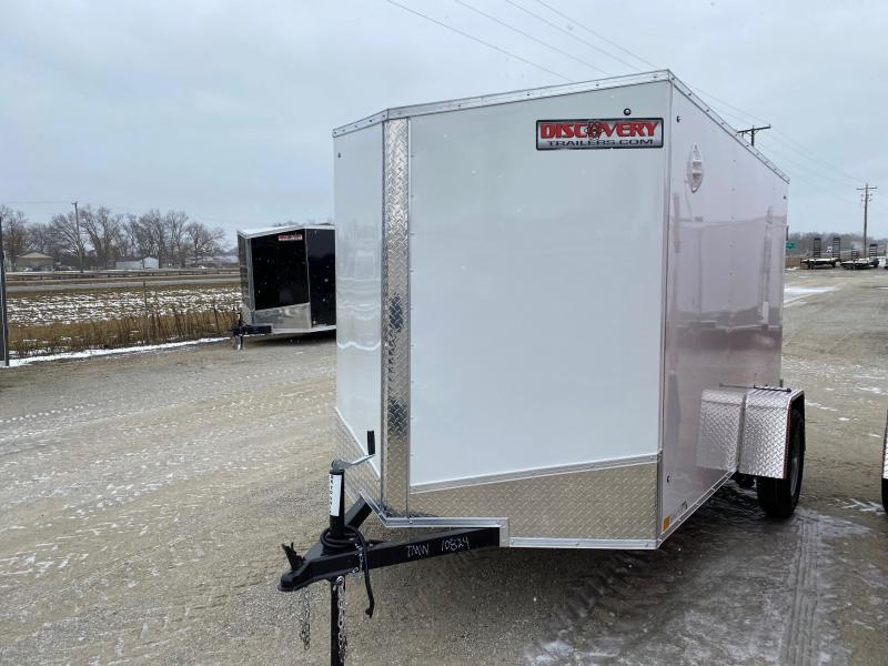 2021 Discovery Rover ET 6X10 Single Axle Cargo Trailer $3000