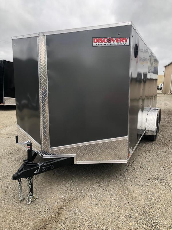 2021 Discovery Rover ET 7X16 7K GVWR Cargo Trailer  $4450