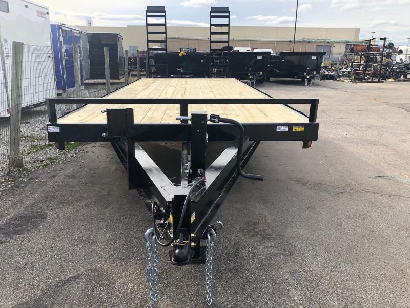 "2021 Quality Steel 102""x24'14K Flatbed Deckover Trailer $5845"