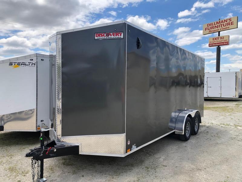 2021 Discovery Rover ET 7X18 7K GVWR Cargo Trailer $5075
