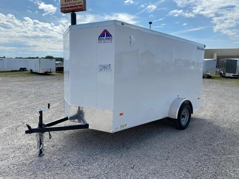 2021 Haul-About Bobcat 6x12 Enclosed Cargo Trailer $2475