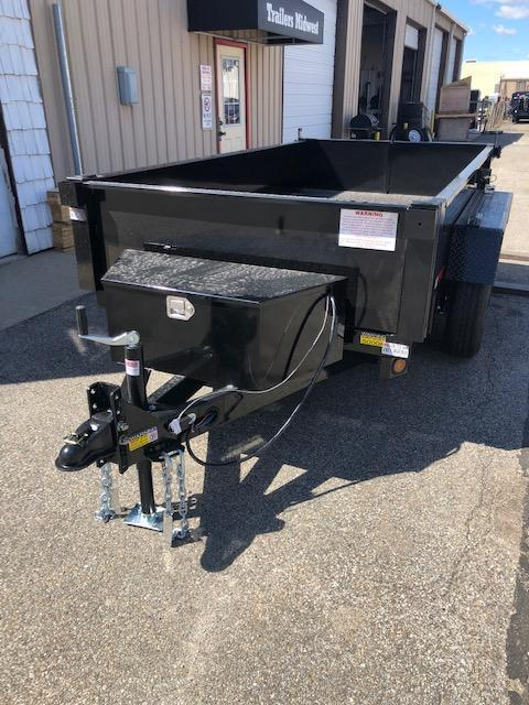2022 Quality Steel 5X10 7K GVWR Dump Trailer $5175