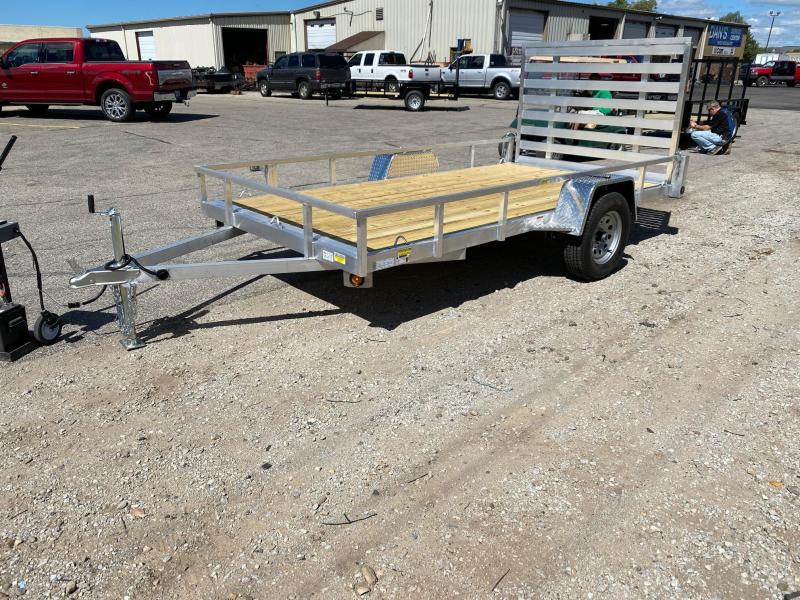 2021 Quality 6X12 Single Axle Aluminum Utility Trailer $2365