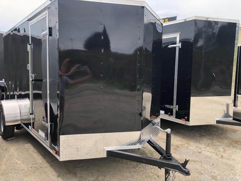 2022 Continental Cargo V-Series 6X12 Single Axle Cargo Trailer  $4500