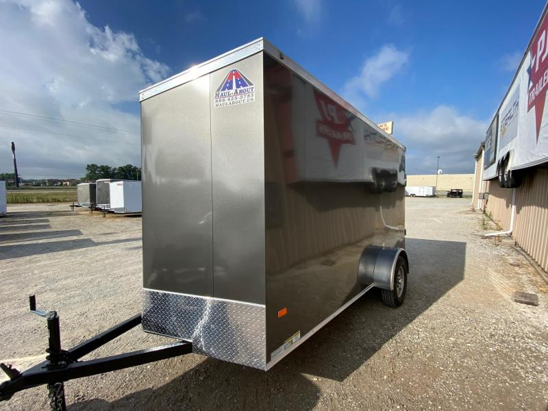 2020 Haul-About Cougar 6x12 Enclosed Cargo Trailer $3125