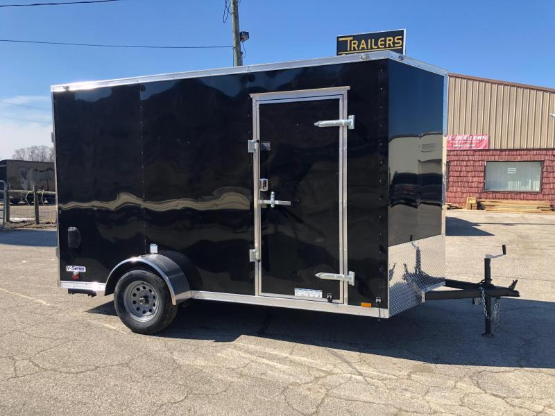 2021 Continental V-Series 6.5X12 Single Axle Cargo Trailer $3625