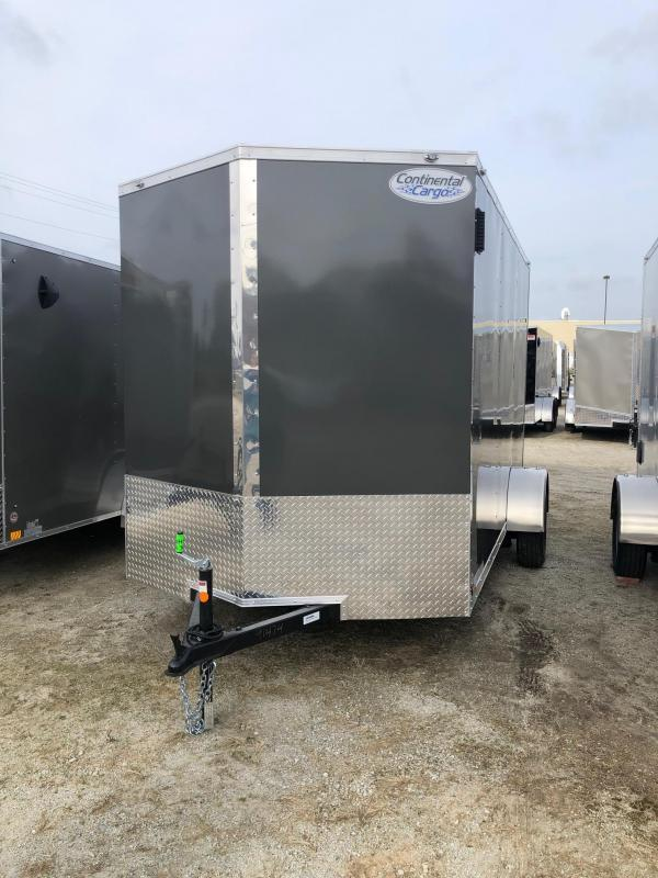 2021 Continental V-Series 6.5X12 Single Axle Cargo Trailer $3286
