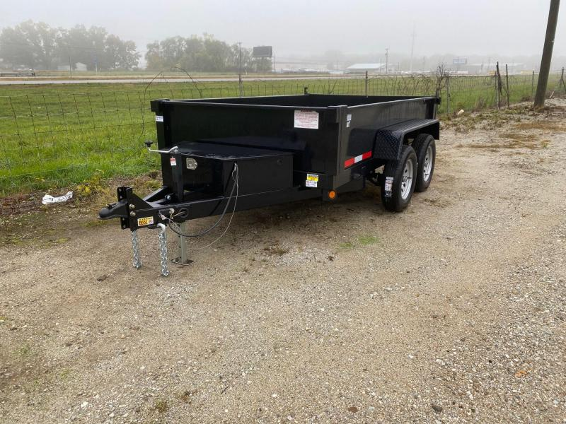 2021 Quality Steel 6X10 7K GVWR Dump Trailer $4300