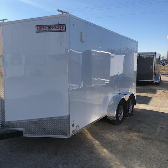2021 Discovery Rover ET 7X14 7K GVWR Trailer $4350