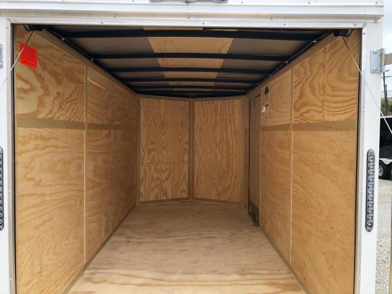 2021 Continental Cargo V-Series 6X12 Single Axle Cargo Trailer  $3050