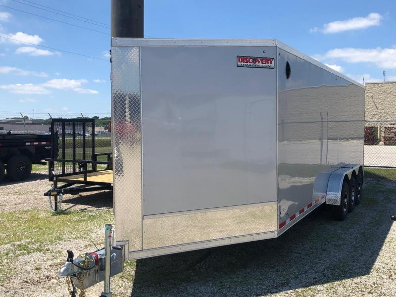 2021 Discovery Trailers Aerolite 15600 GVWR Snowmobile Trailer $11500