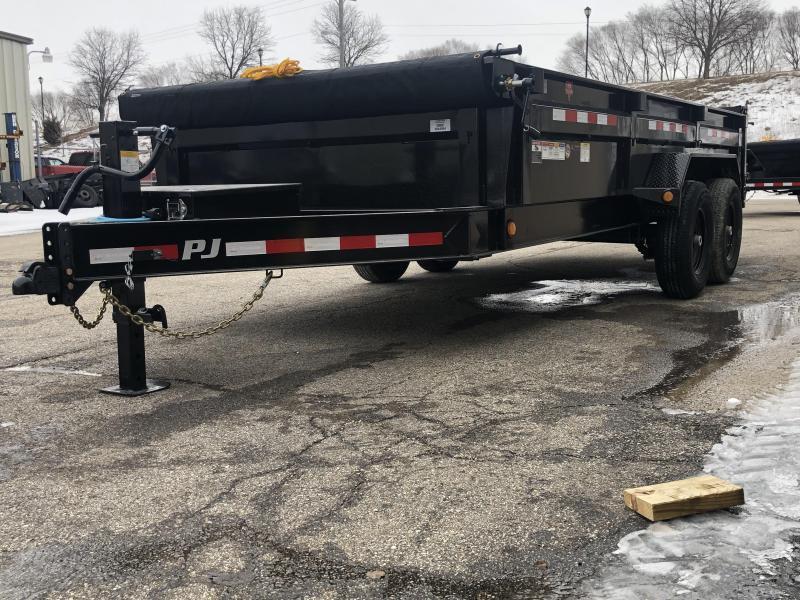 """2021 PJ DL 83""""X14' 14K GVWR Dump Trailer $7600"""