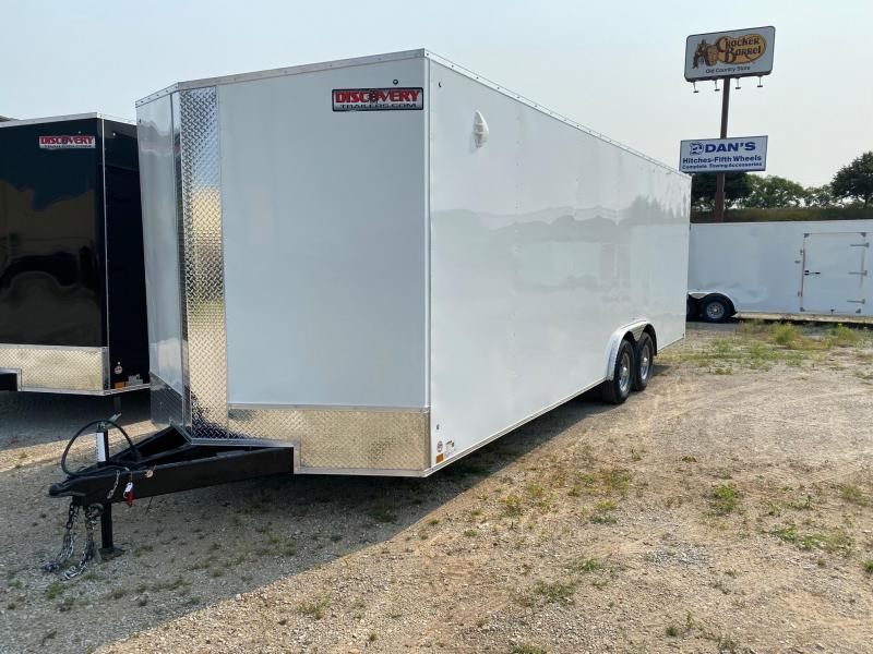 2022 Discovery Challenger ET 8.5X24 10K GVWR Enclosed Car Trailer $10416
