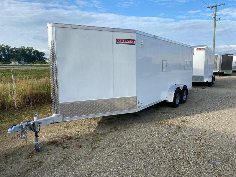 2022 Discovery Aerolite 7X23 7K GVWR Snowmobile Trailer $10650