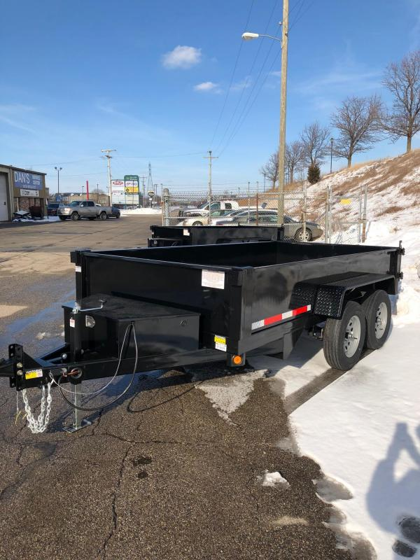 2022 Quality Steel 6X12 7K GVWR Dump Trailer $6975