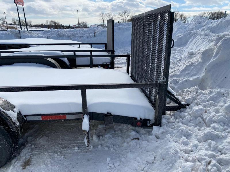 "2022 Quality Steel 83""X20' 10K GVWR Car Trailer $4650"