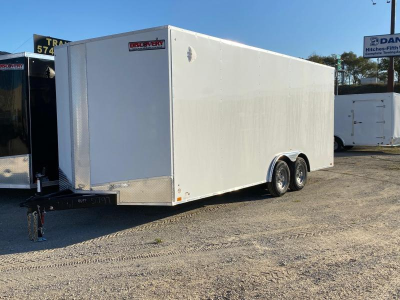 2022 Discovery Challenger ET 8.5X20 10K GVWR Enclosed Trailer $9902