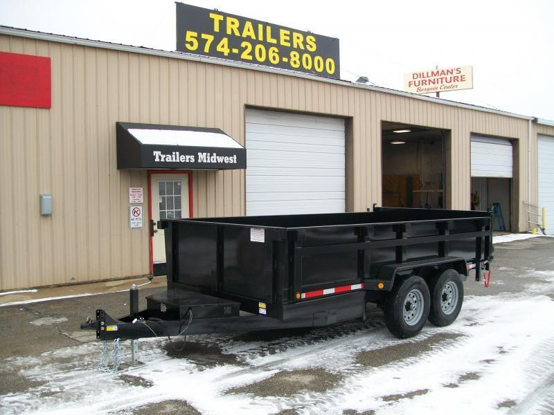 "2022 Quality Steel CJ 83""X14' 14K GVWR Dump Trailer $9500"