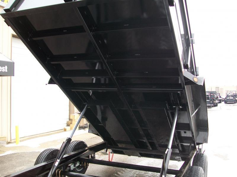 """2022 Quality Steel CJ 83""""X14' 14K GVWR Dump Trailer $10175"""