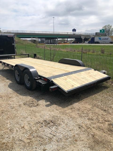 "2022 Quality Steel 83""X20' 7K GVWR Car Trailer $5400"