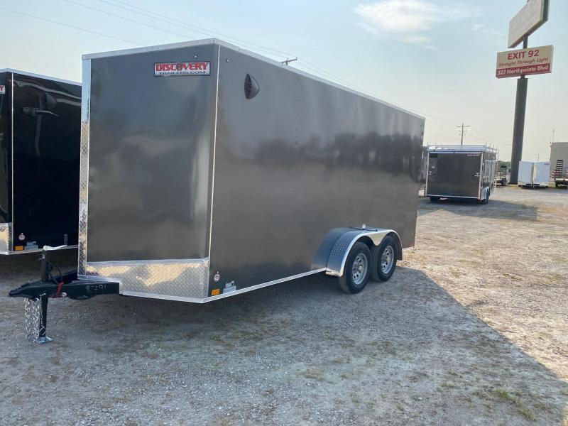 2021 Discovery Rover ET 7X16 7K GVWR Cargo Trailer $4810