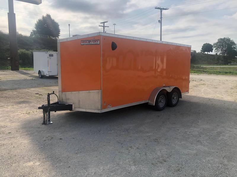 2020 Discovery Rover SE 7x16 Enclosed Cargo Trailer $4300