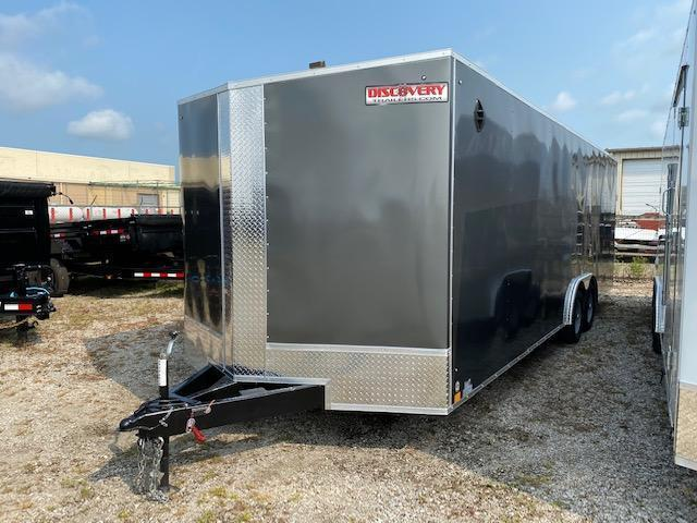 2022 Discovery Challenger ET 8.5X24 7K GVWR Enlcosed Car Trailer  $9250