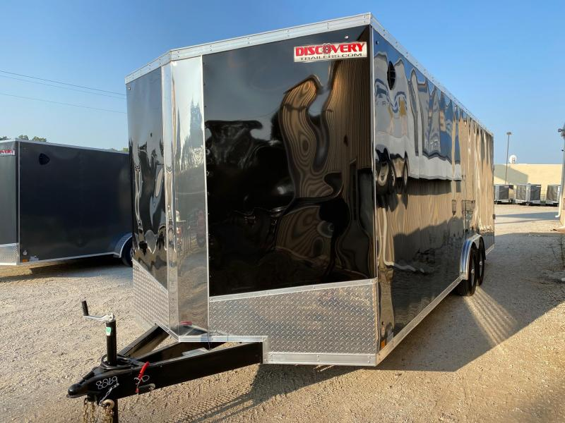 2021 Discovery Challenger SE 8.5X24 10K GVWR Enclosed Car Trailer $7765