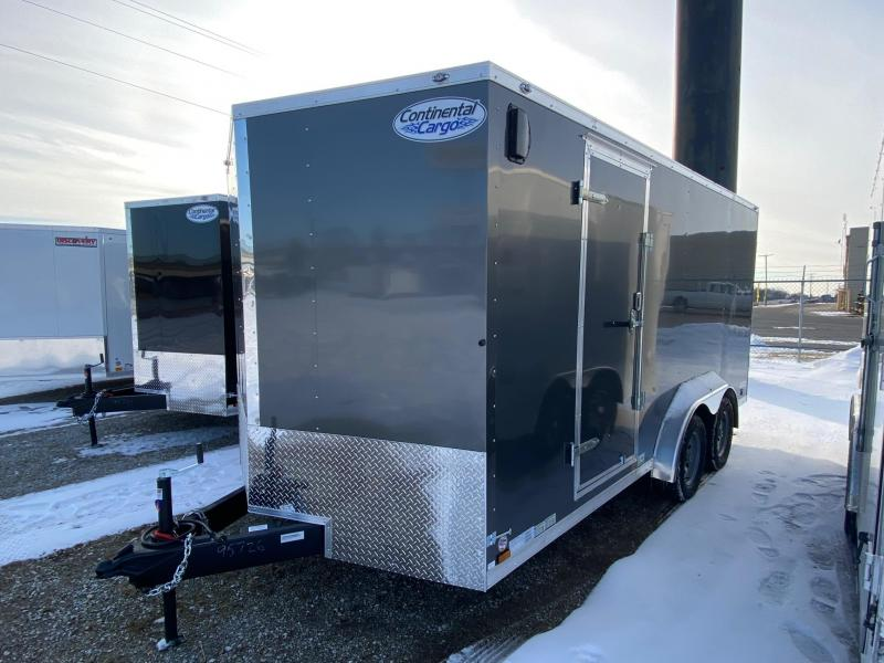 2021 Continental V-Series 7.5X16 7K GVWR Enclosed Cargo Trailer $5450