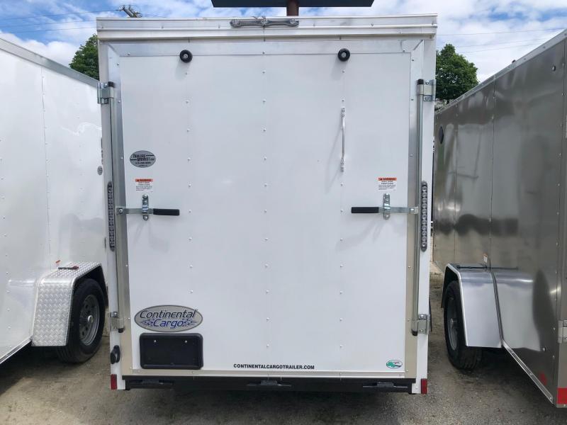 2020 Continental Cargo V-Series 6X12 Single Axle Cargo Trailer $3000
