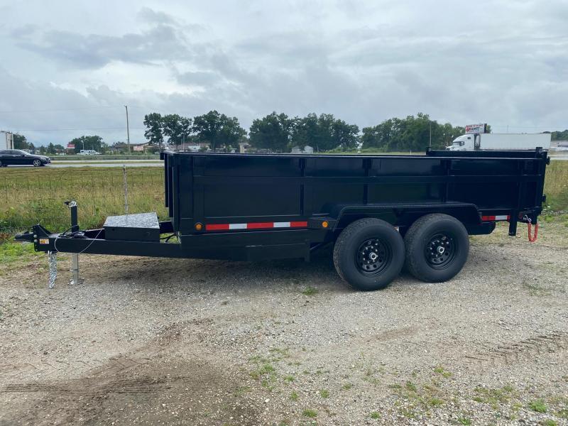 """2022 Quality Steel CJ 83""""X14' 14K GVWR Dump Trailer $9900"""