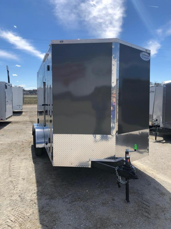 2021 Continental V-Series 7X14 7K GVWR Cargo Trailer On Sale $4712