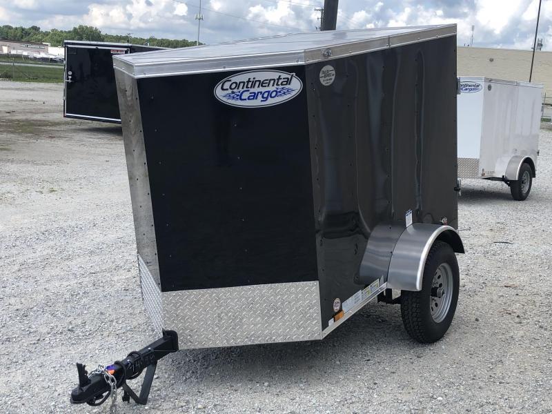 2021 Continental Cargo V-Series 4X6 Cargo Trailer $1550