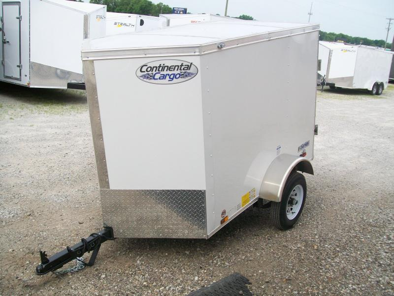 2021 Continental Cargo 4X6 Single Axle Trailer $1550