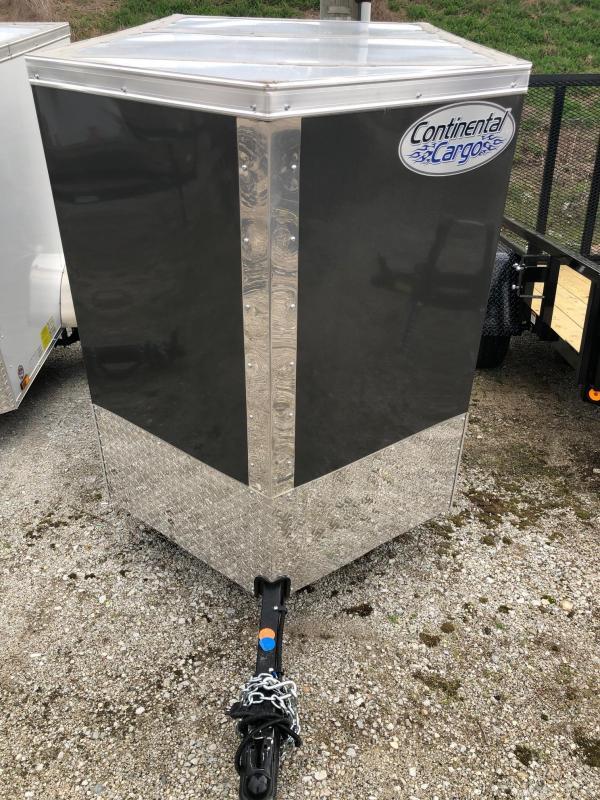 2021 Continental Cargo 4X6 Single Axle Trailer $1550