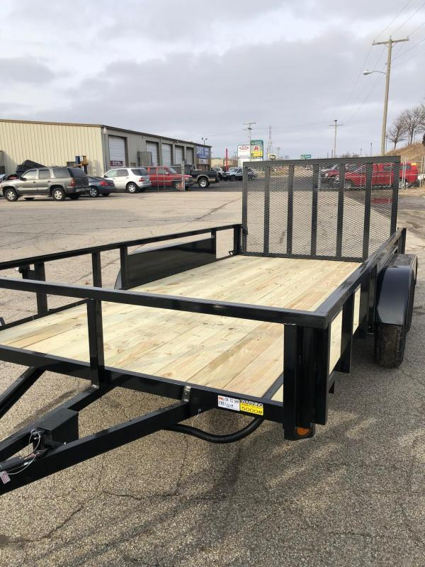 """2021 Quality Steel 82""""X16' 7K GVWR Utility Trailer $2810"""
