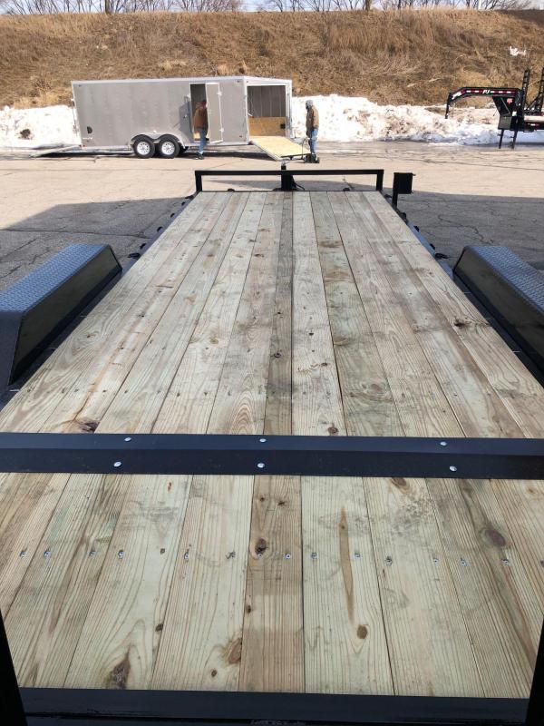 "2020 Quality Steel 83""X24' 14K GVWR Equipment Trailer $5050"